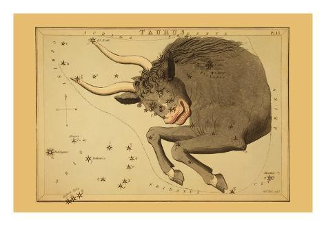 Taurus the Bull Art Print