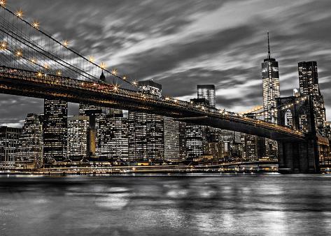 New York Giant Poster