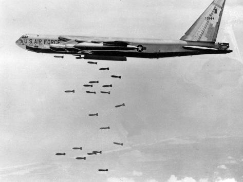 Vietnam B-52 Bombings Photographic Print