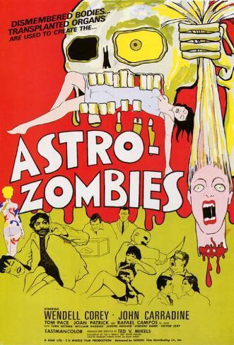 Astro-Zombies Masterprint