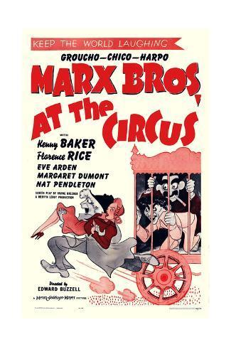At the Circus Art Print