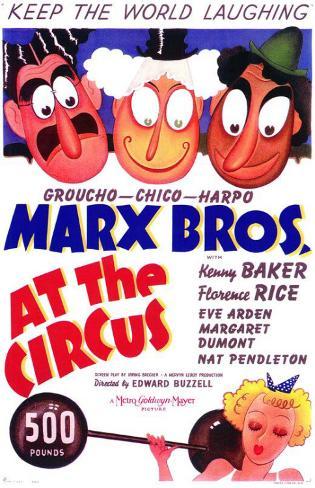 At the Circus Masterprint