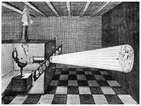 Magic Lantern, 1671 Giclee Print