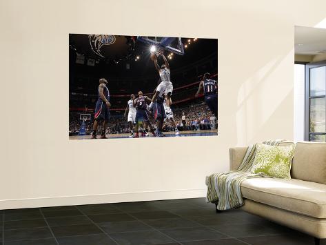 Atlanta Hawks v Orlando Magic - Game Five, Orlando, FL - April 26: Quentin Richardson Laminated Oversized Art
