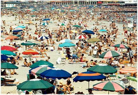 Atlantic City Beach Archival Photo Poster Print Poster