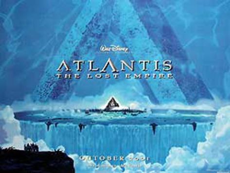 Atlantis: The Lost Empire Movie Poster Original Poster