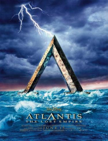 Atlantis the Lost Empire Póster original