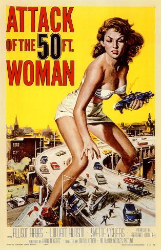 Attack of the 50 Foot Woman Masterprint