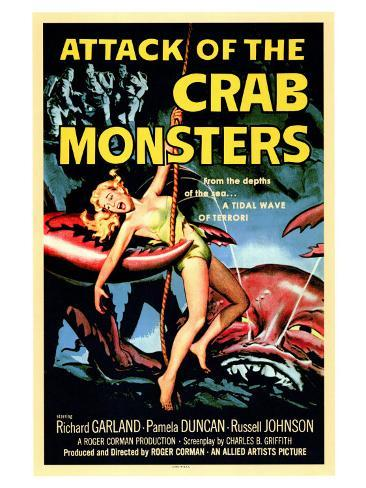 Attack of the Crab Monsters, 1957 Art Print