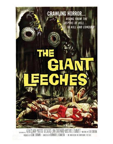 Attack Of The Giant Leeches - 1959 II Giclee Print