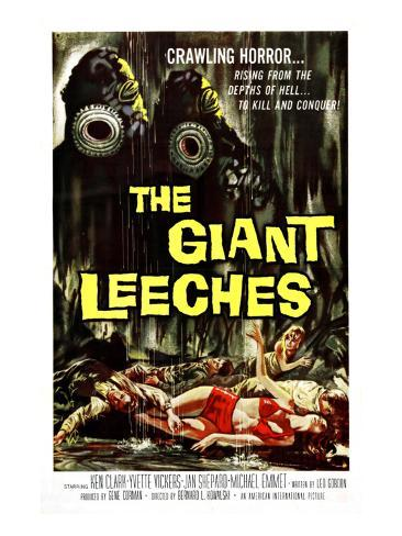Attack of the Giant Leeches (aka the Giant Leeches), 1959 Photo