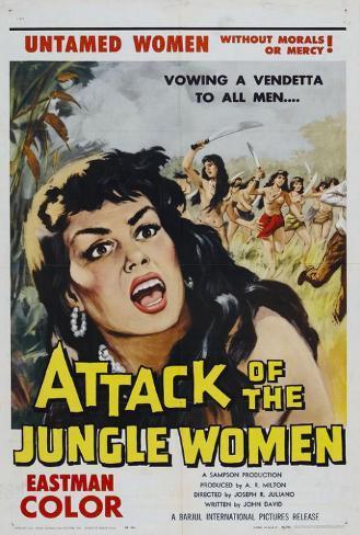 Attack of the Jungle Women ポスター