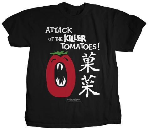 Attack of the Killer Tomatoes - Japanese Tomatoes T-Shirt