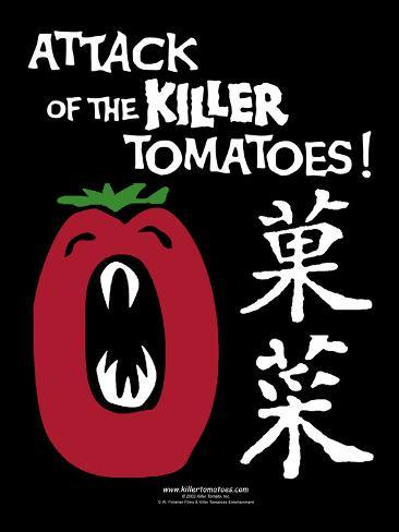 Attack of the Killer Tomatoes Japanese Pôster