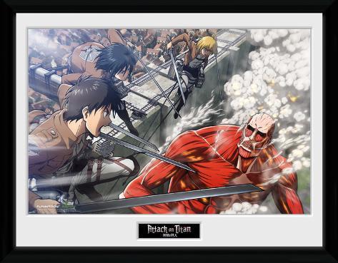 Attack On Titan- Full Scale Attack Collector Print