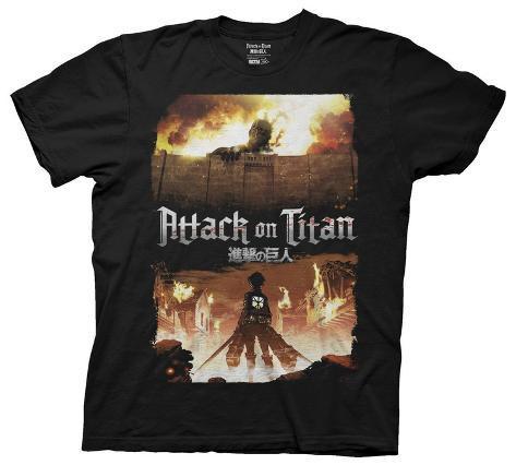 Attack On Titan - Keyart T-Shirt
