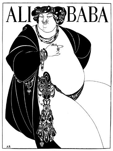 Cover Design for Ali Baba, 1897 Giclee Print