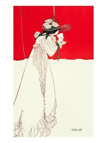 Isolde, 1895 Impressão giclée