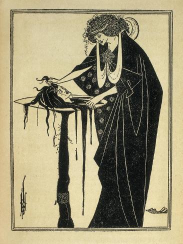 Salome Print by Aubrey Beardsley - AllPosters.co.uk