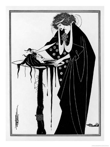 The Dancer's Reward: The Head on a Platter Giclee Print