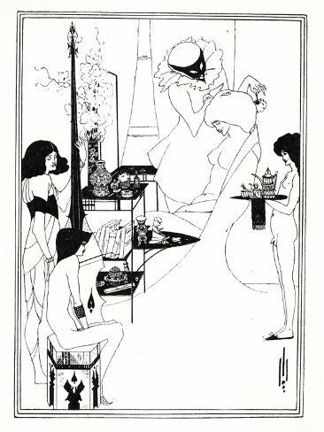 The Toilette of Salome, 1899 Giclee Print