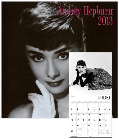 Audrey Hepburn - 2013 Wall Calendar Calendars