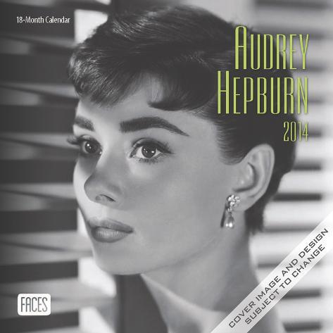 Audrey Hepburn - 2014 Mini Calendar Calendars
