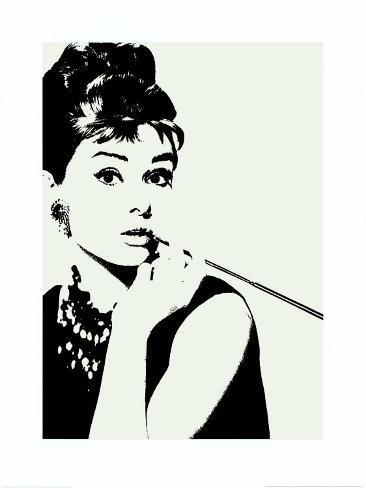 Audrey hepburn cigarillo