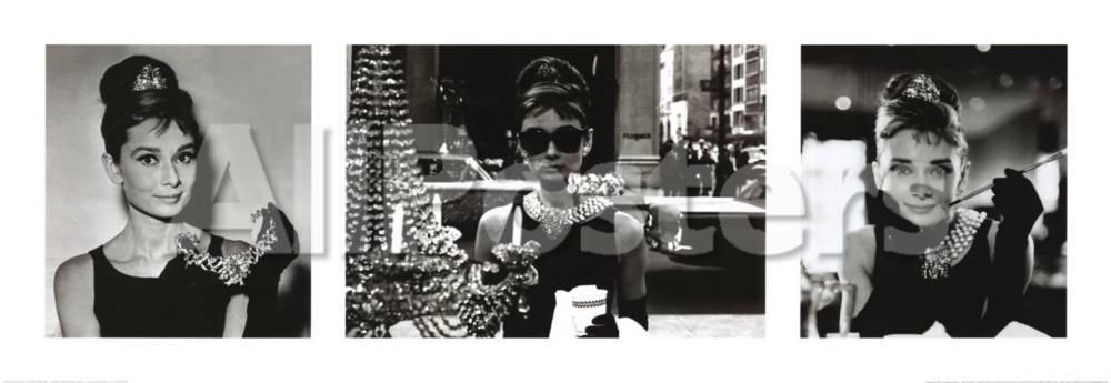 Audrey Hepburn en Desayuno con diamantes Láminas en AllPosters.es