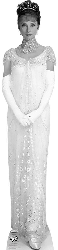 Audrey Hepburn - My Fair Lady 02 Lifesize Standup Cardboard Cutouts ...
