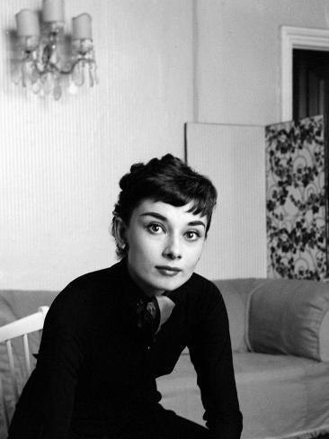 Audrey hepburn september 1954 l mina fotogr fica en - Laminas audrey hepburn ...