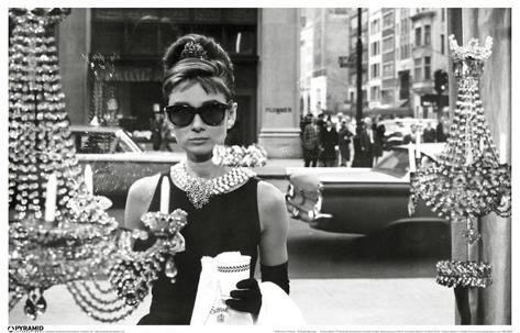 Audrey Hepburn - Window Masterprint