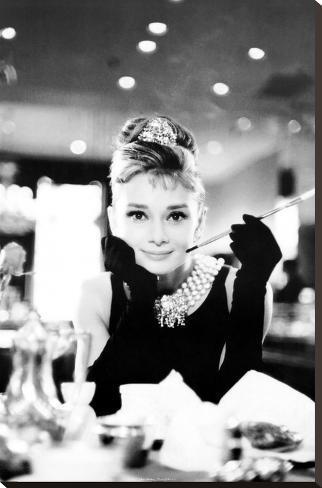 Audrey Hepburn Pingotettu canvasvedos