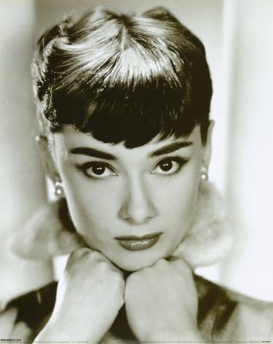 Audrey Hepburn Minipôster