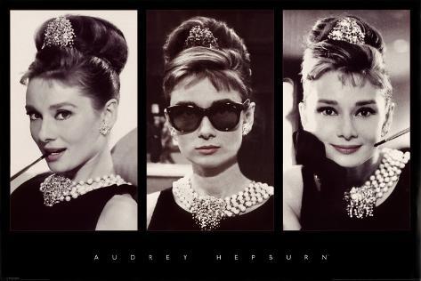 Audrey Hepburn Pôster