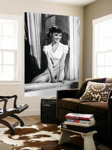 Audrey Hepburn Giant Art Print