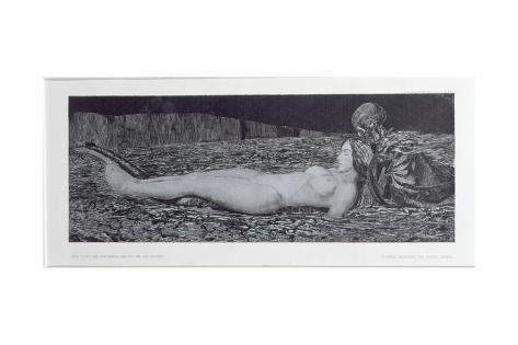 One Corpse, from the Cycle 'Death and the Maiden' Giclee Print