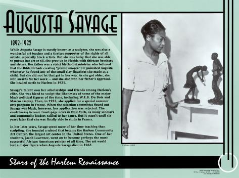 Augusta Savage Art Print