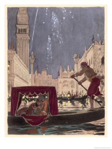 Carnival at Venice Giclee Print