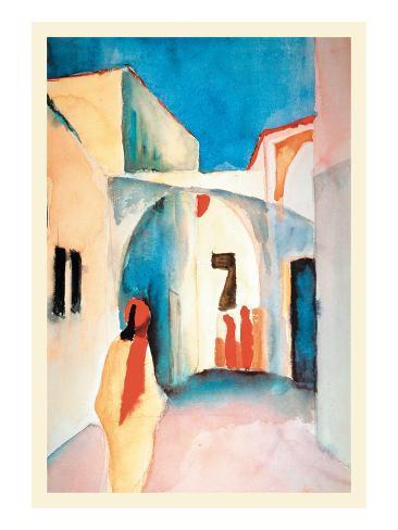 A Glance Down an Alley Impressão artística