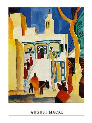 Blick Auf Eine Moschee Art Print