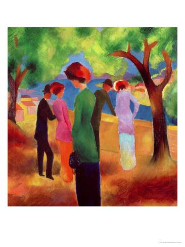 Woman in a Green Jacket, 1913 Giclee Print