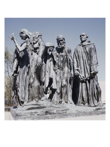Burghers of Calais Giclee Print