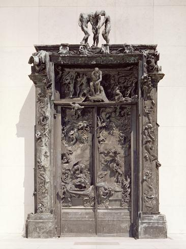 Gates of Hell, C.1890 (Bronze) Giclee Print