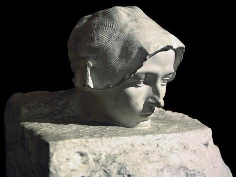 The Thought, Unfinished Portrait of Camille Claudel, Rodin's Pupil Fotografía