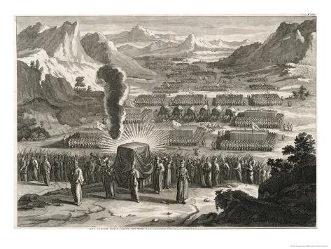 Ark of the Covenant Lámina giclée