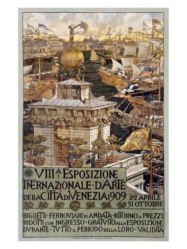 VIII Esposizone International Venezia Giclee Print