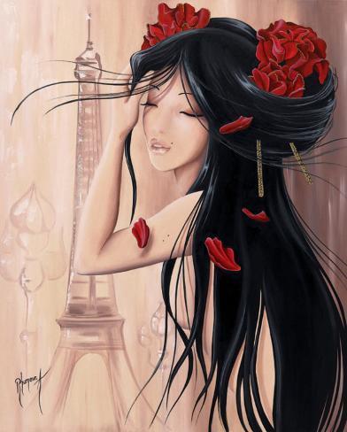 Lilou Paris et Romance II Art Print