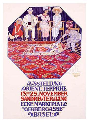 Ausstellung Orient Giclee Print