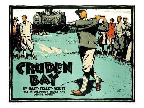 Cruden Bay Giclee Print